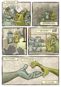 Non-Playable Character - 22-16 - An LFG Spinoff Comic