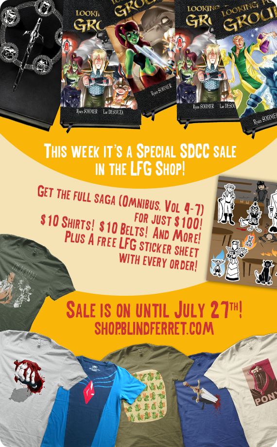 SDCC SALE IN THE SHOP!